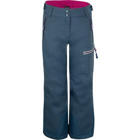 TROLLKIDS Hallingdal Pantalon Enfant, navy/magenta